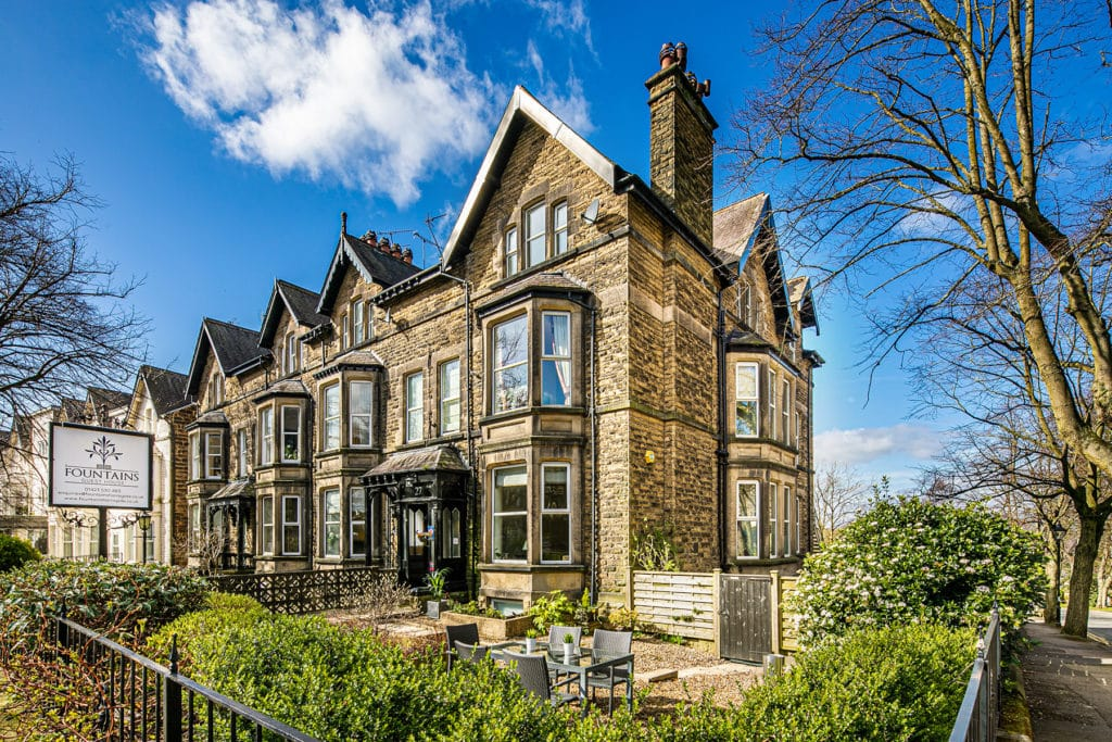 Places to stay in Harrogate Stays The Belmont Fountains Guest House Visit Cycling Tourism Parking Walking in Yorkshire